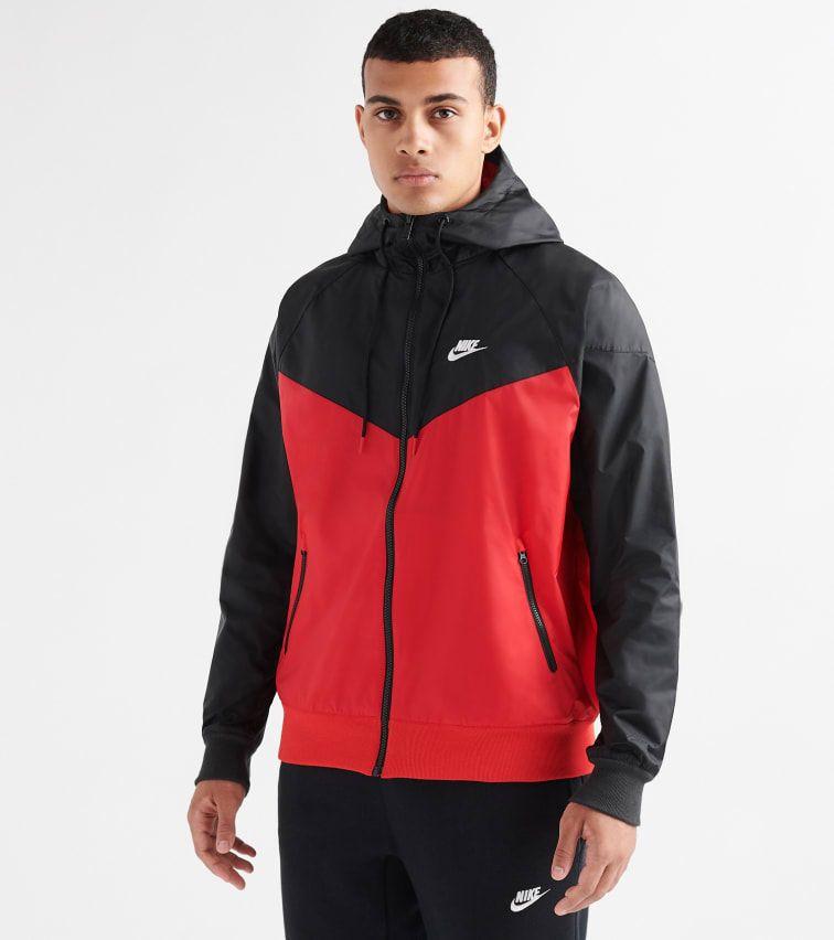 NIKE WINDRUNNER HOODED JACKET. #nike #cloth   Nike in 2019