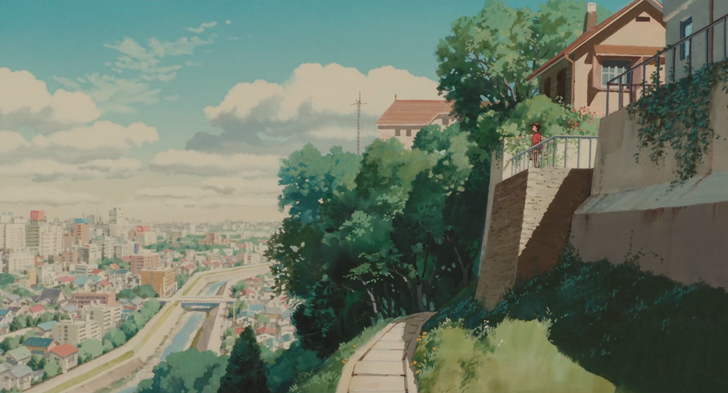 Studio Ghibli Stills Whisper Of The Heart 1920x1036 Movies Post Studio Ghibli Ghibli Artwork Anime Scenery