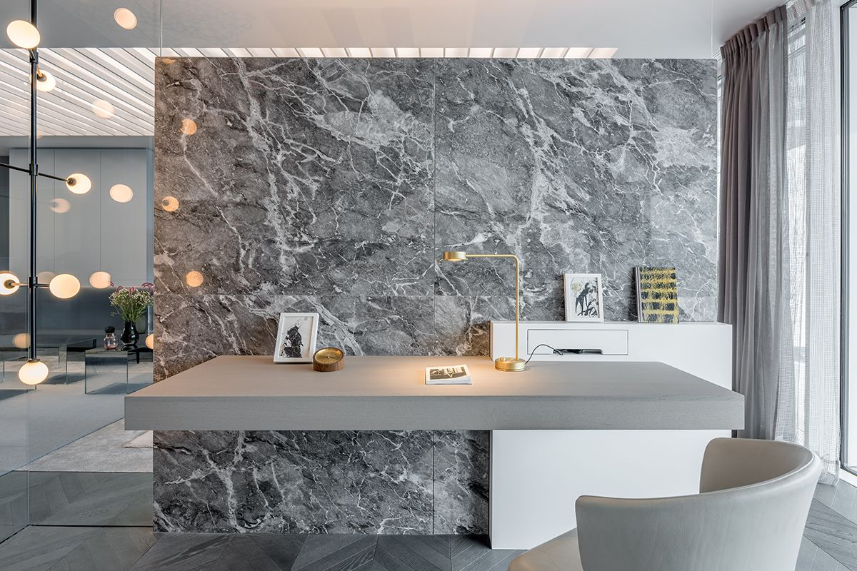 Show apartment shades of grey shanghai. a project by ippolito
