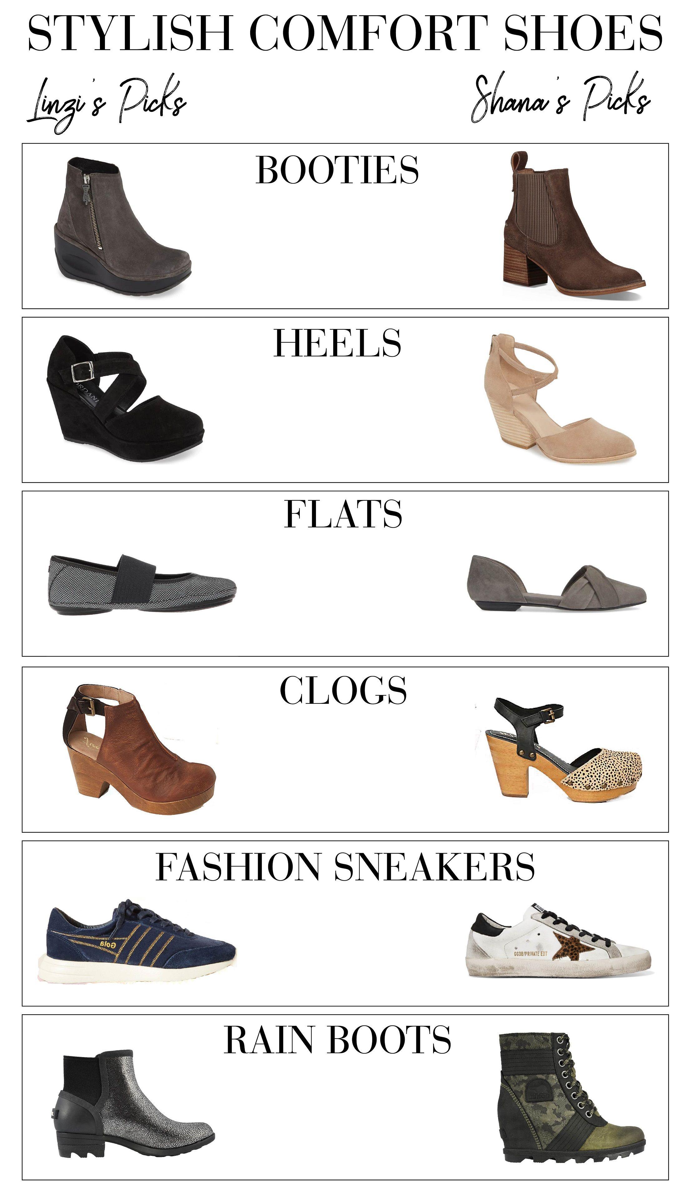comfortable stylish slip on shoes