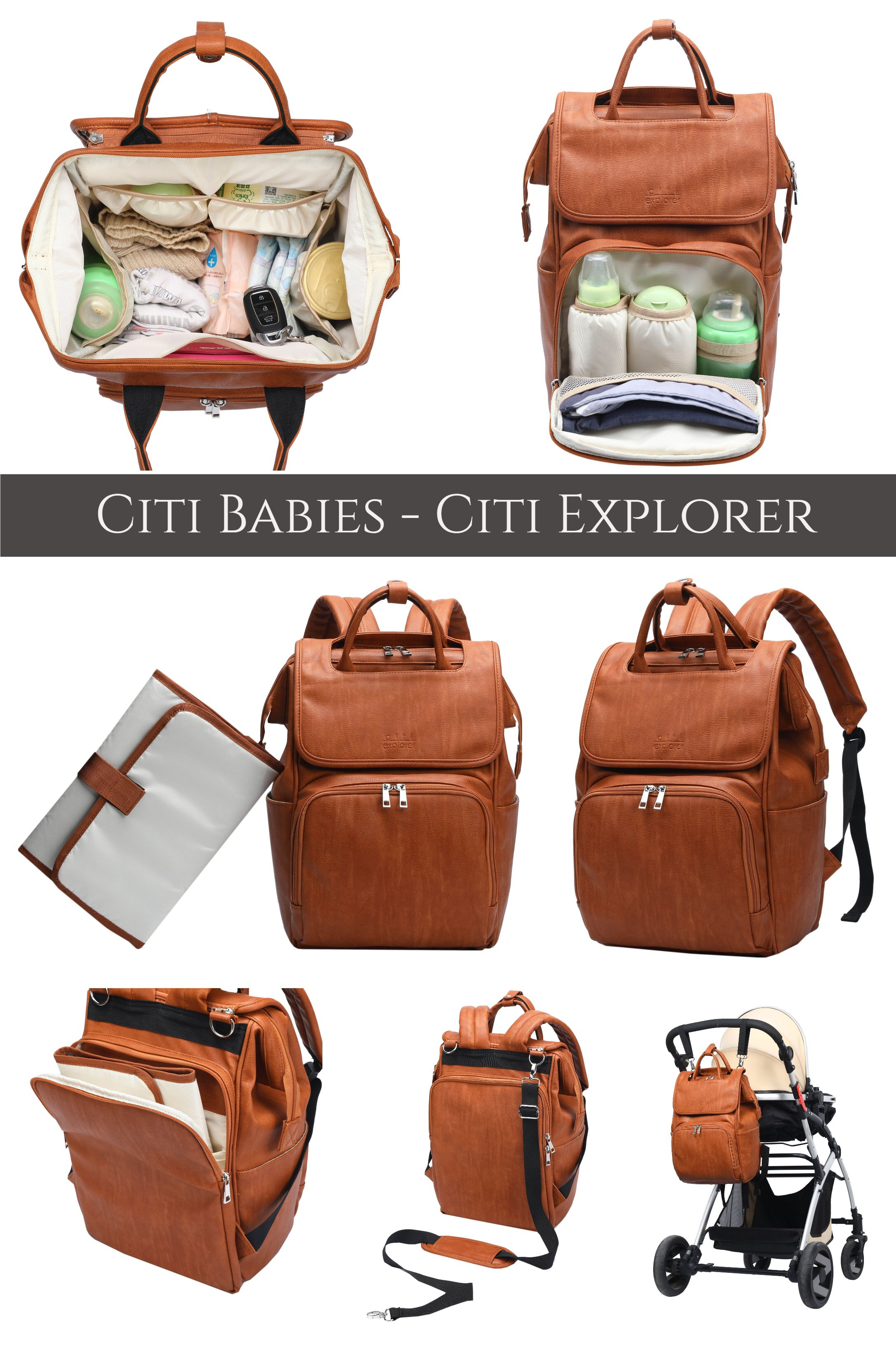 We Are Totally Loving This Designer Diaper Bag Backpack