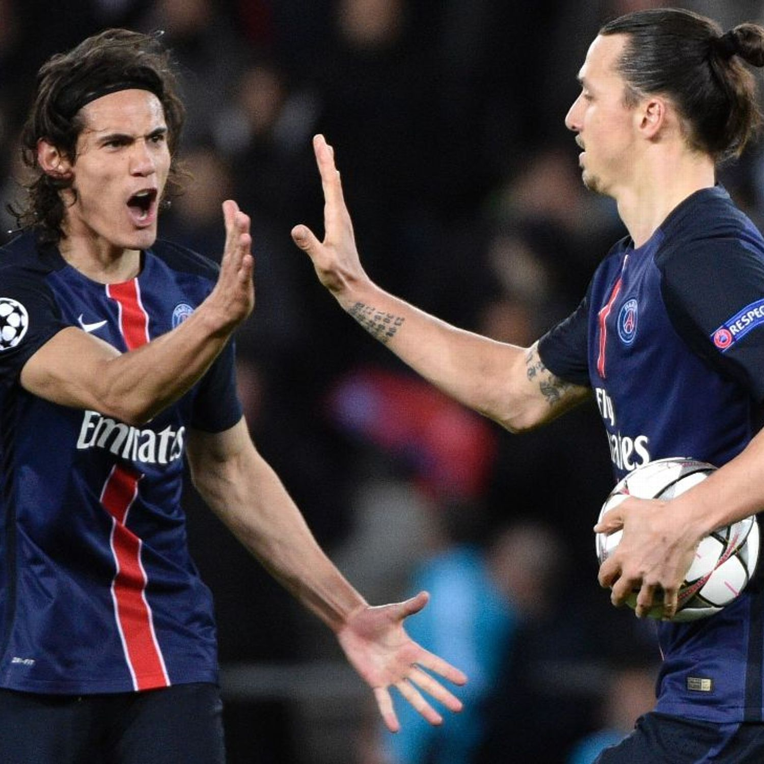 Unai Emery Hopes Edinson Cavani Tops Zlatan Ibrahimovic S Psg Goals Record