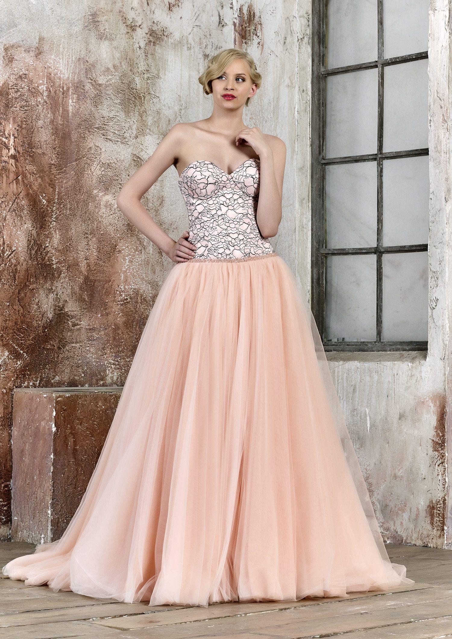 vestido de novia ANTU | María Salas Novias 2017 | bride | Pinterest ...