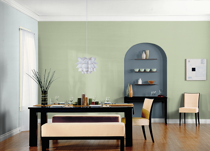 This is the project I created on Behr.com. I used these colors: MOSS ...