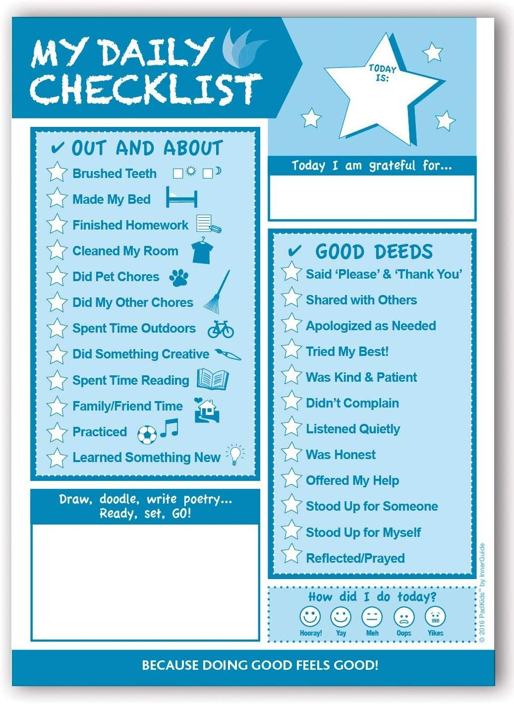 Checklist For The Kiddos
