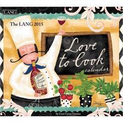 Love To Cook 2015 Wall Calendar