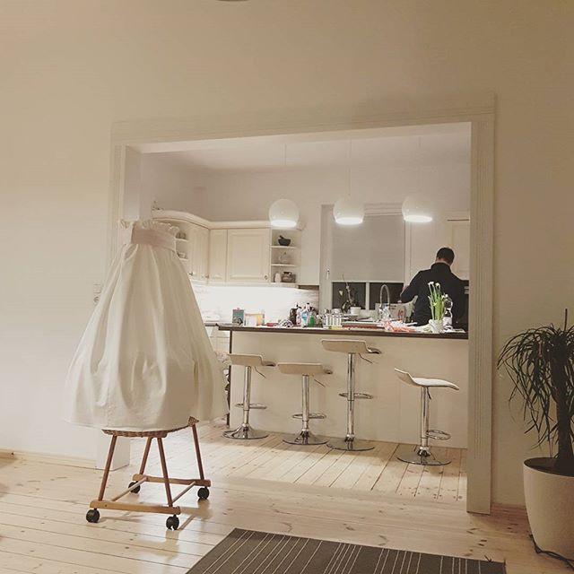 Heute #kochen die 3 Männer mal Sabrina #kitchen #küche