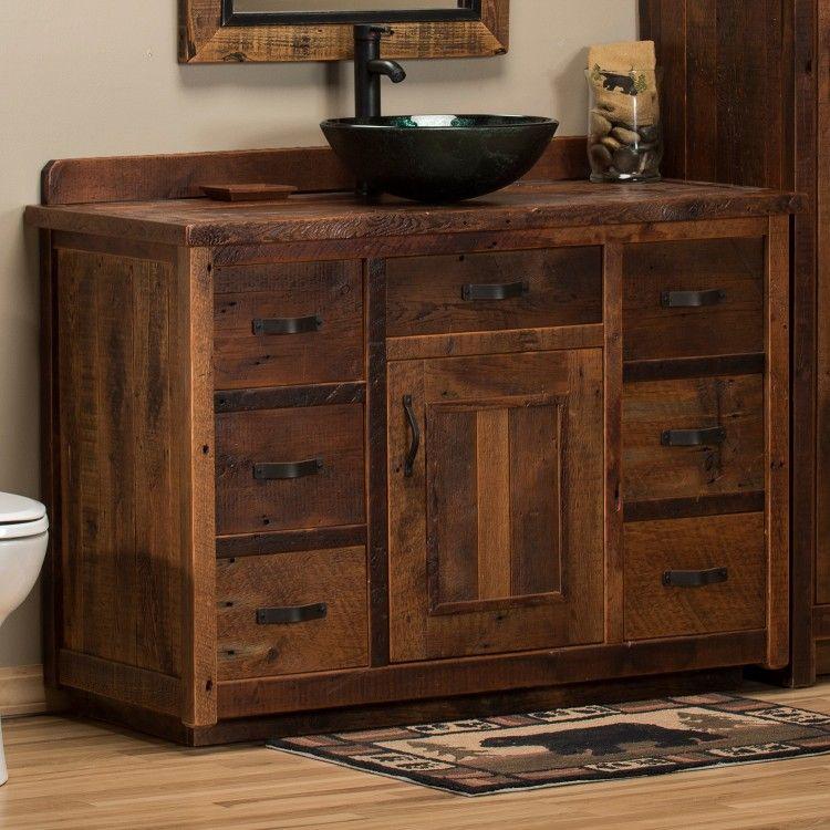 Timber Frame Barn Wood Vanity Rustic Bathroom Vanities Barnwood Bathroom Vanity Rustic Vanity
