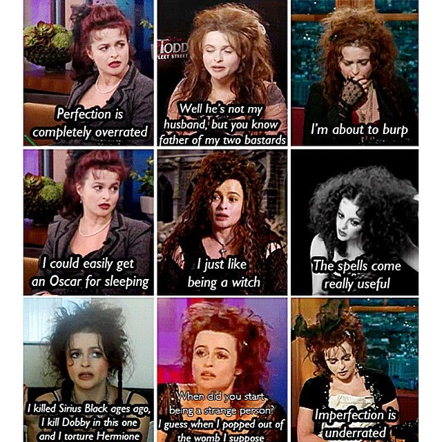 Helena Bonham Carter everyone