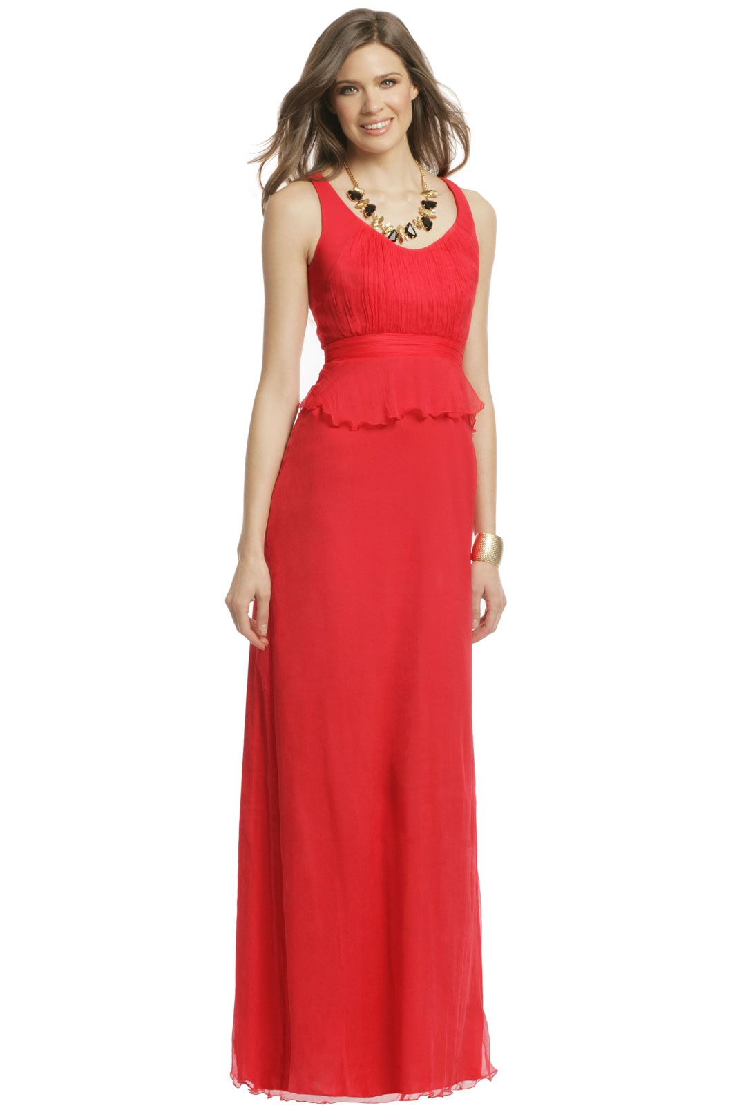Carlos miele red pepper hot gown my favorites pinterest red