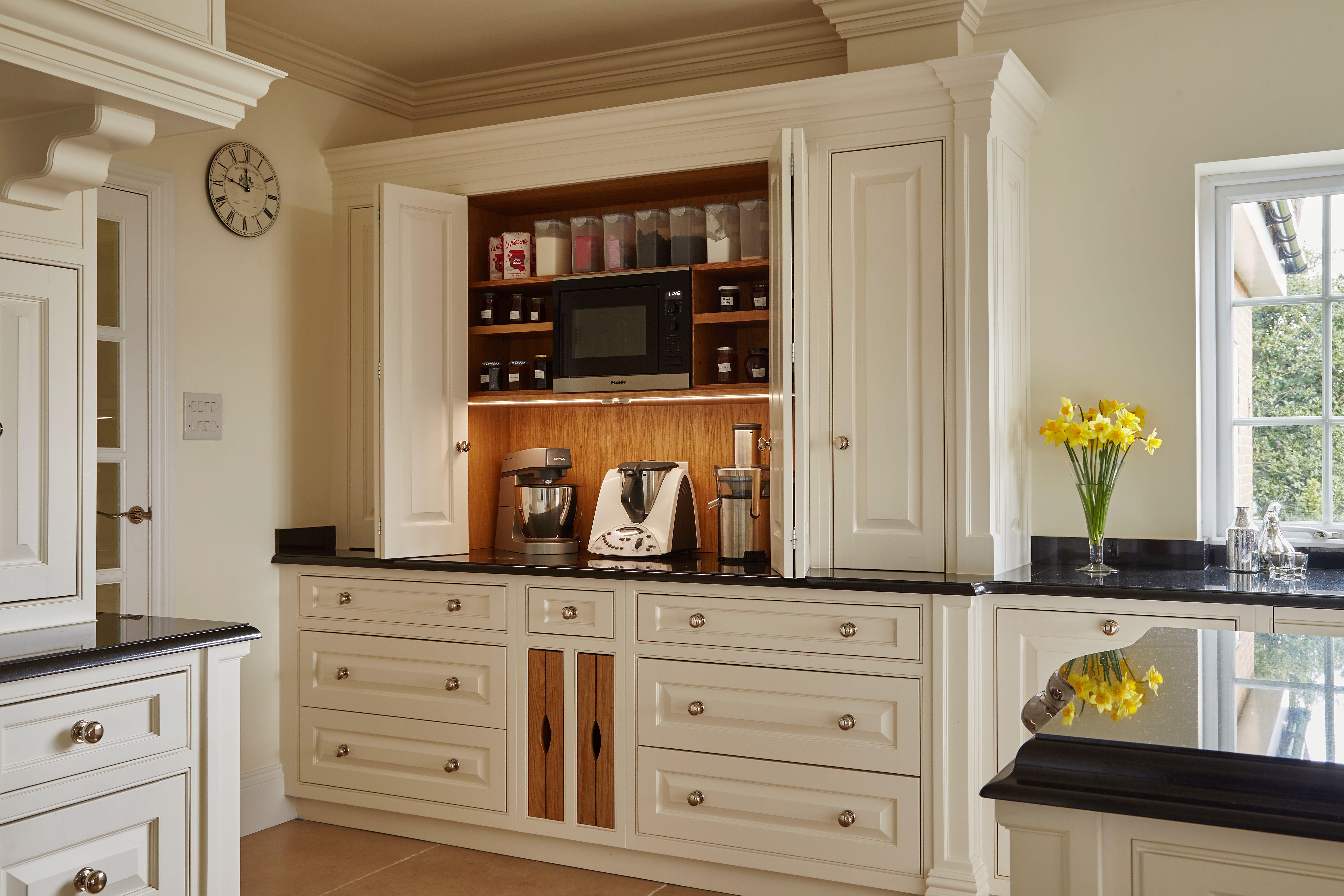Luxury Bespoke hand made kitchen, hand painted kitchen ...
