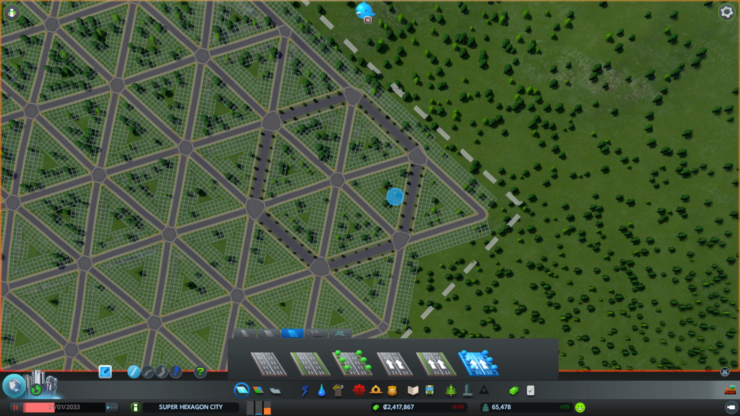 Cities Skylines How To Make Triangle Hexagon Cities City Skyline City Skyline