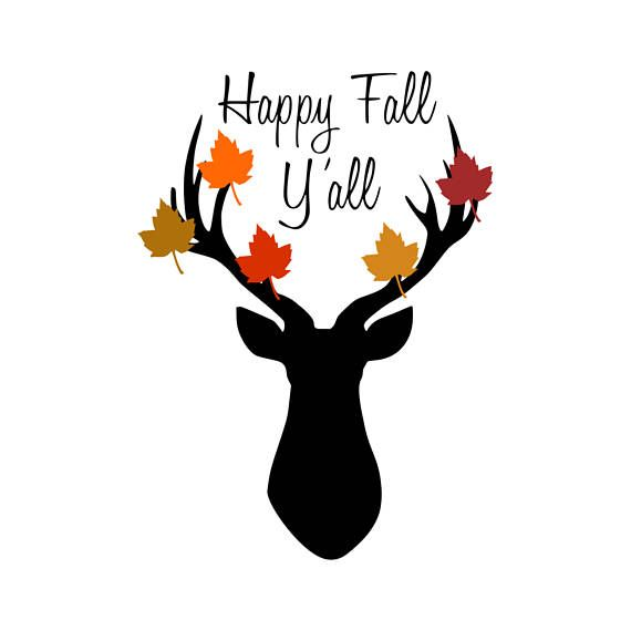 Download Happy Fall Y'all Svg-Happy Fall Svg-Deer Svg-Fall | Happy ...
