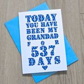Personalised Grandparent Days Card