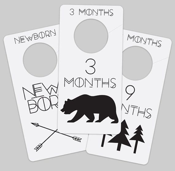 fascinating Printable Baby Closet Dividers Part - 8: Printable Baby Adventure Closet Dividers for Nursery With this purchase  youu0027ll receive 8.5 x 11 inch printable PDF INSTANT DOWNLOAD of the closet  dividers.
