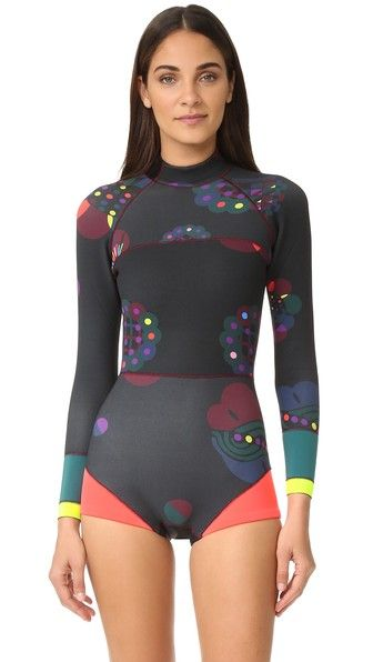 9a70bba4554da4 Fleuro Orbit Wetsuit | Surf Girl Suits | Wetsuit, Cynthia rowley y ...