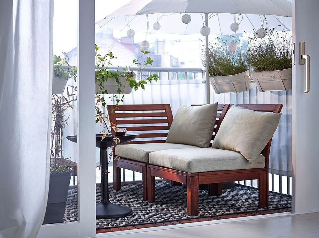 8 stylish balcony updates that start at ikea decorating a small outdoor space presents many challenges