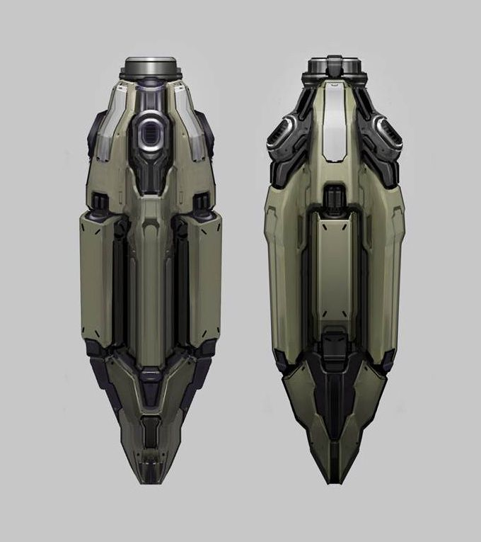 Halo 4 concept art by Josh Kao