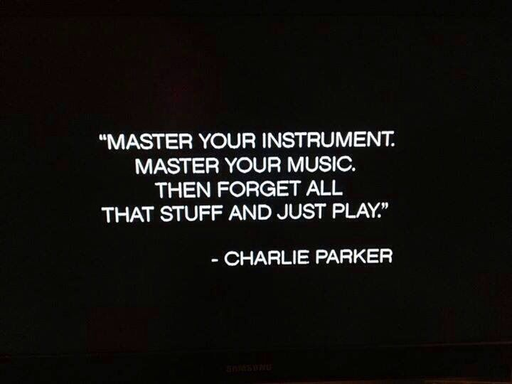 Quote About Jazz Music: Consider This • Charlie Parker