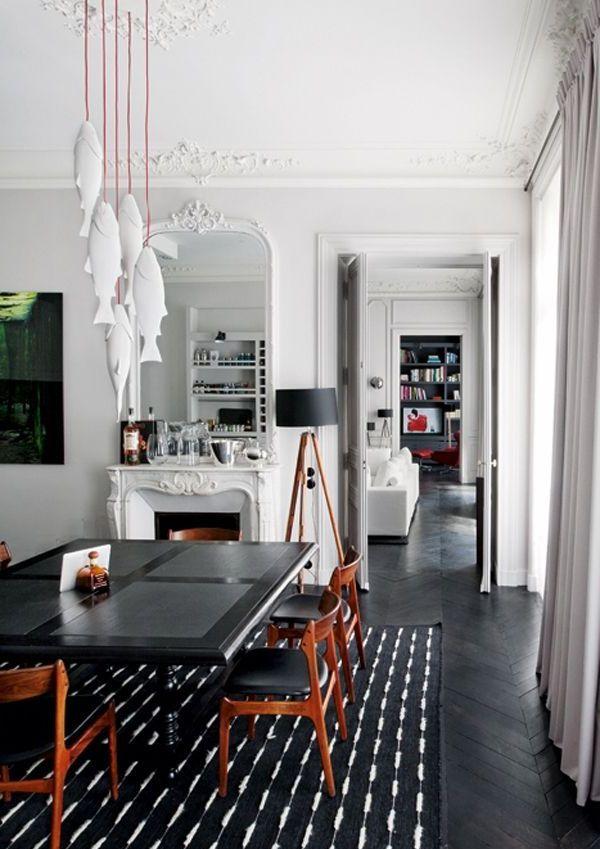 White interiors - interior design - ideas