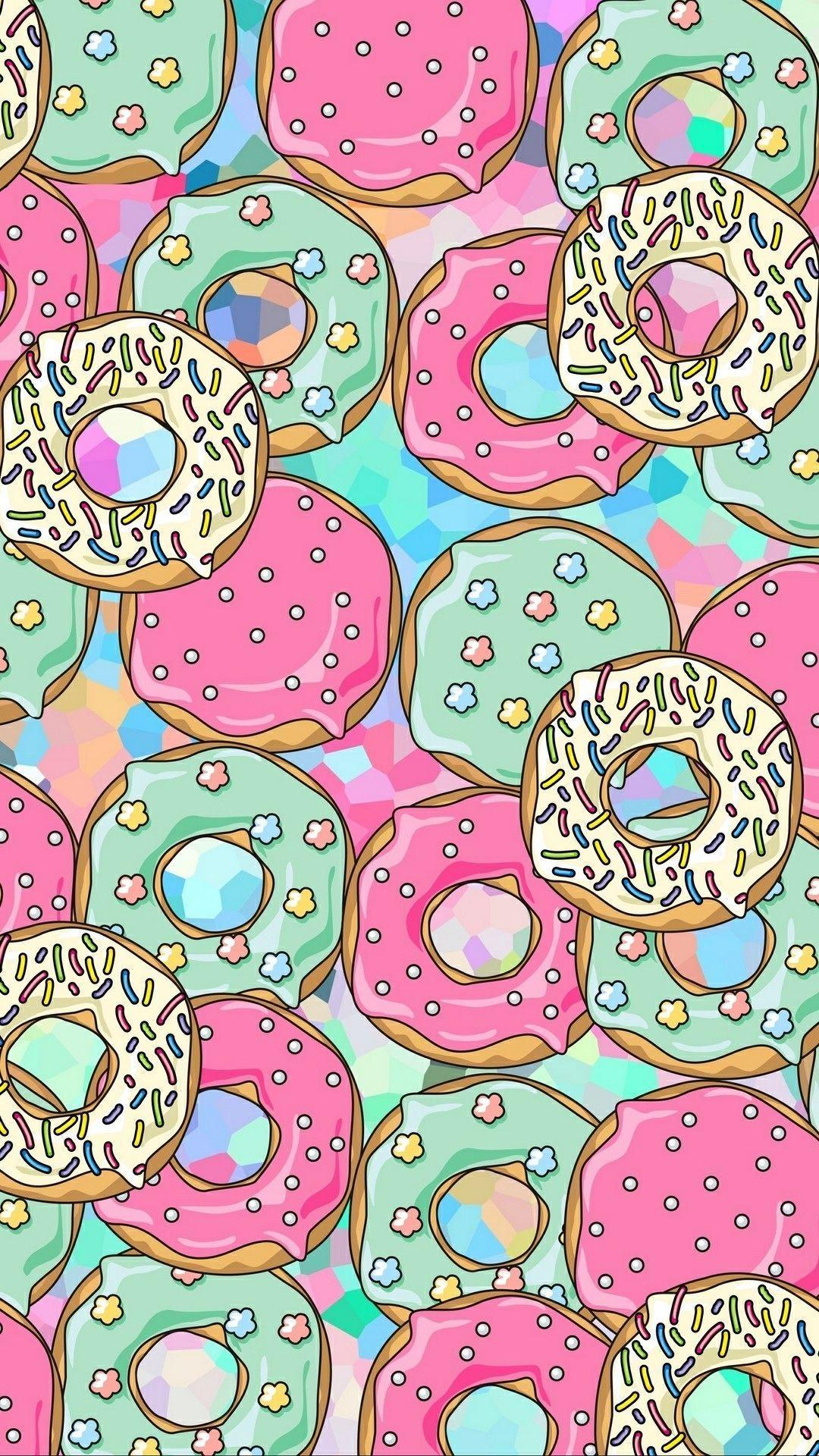 Donuts wallpaper in 2020 Wallpaper, Infinity wallpaper