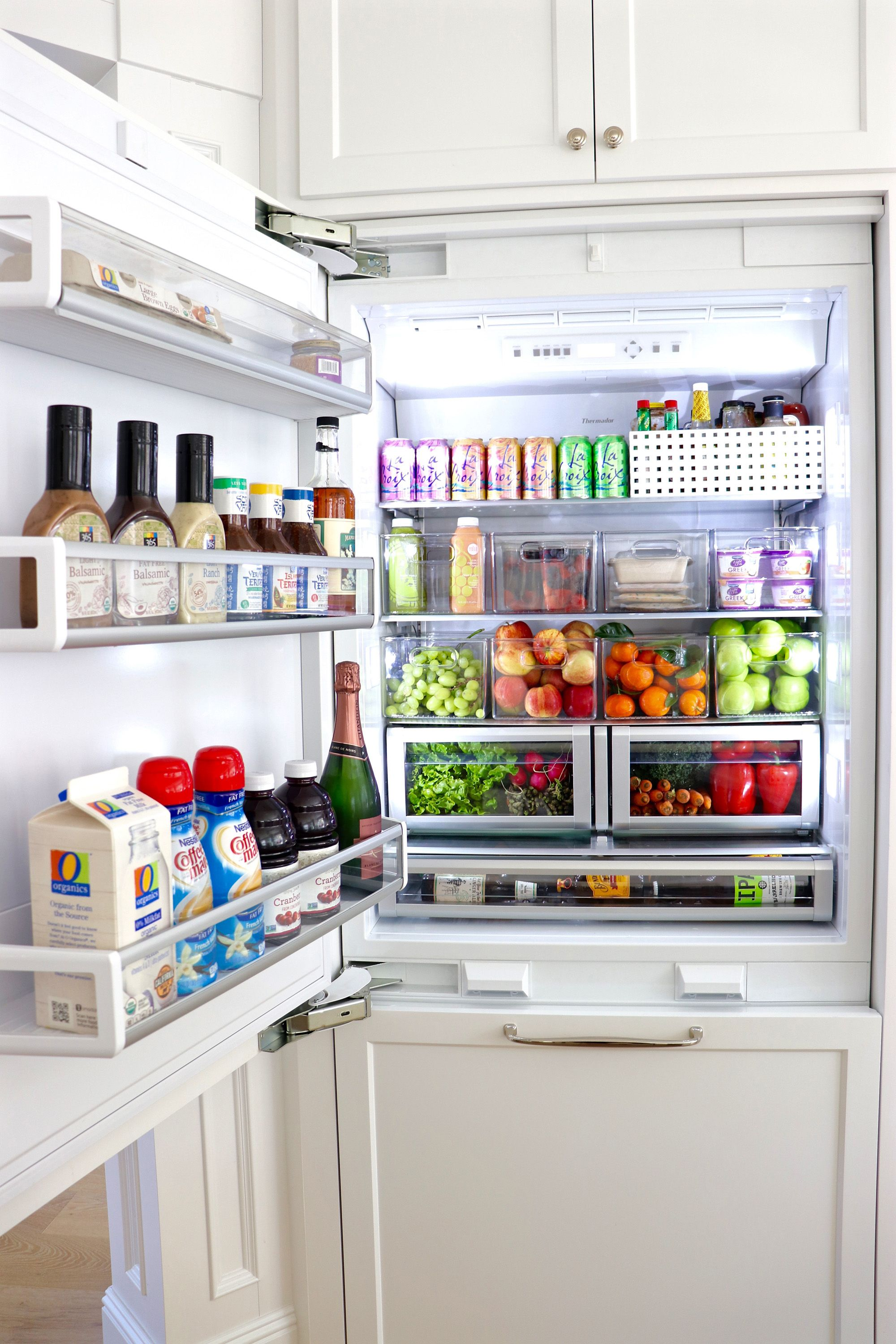 10 Tips To Organize Your Refrigerator With Inspiring Before After Photos Fridge Organization Organization Hacks Bedroom Kitchen Organization