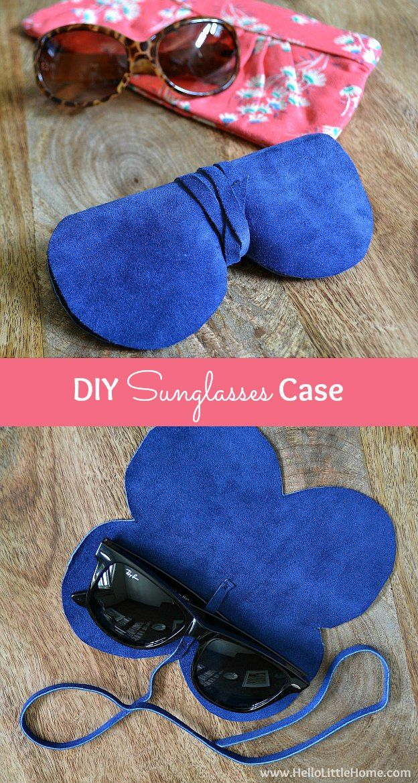 Super Easy Diy Dish Soap 3 Ingredients: Super Easy, Super Chic DIY Sunglasses Case