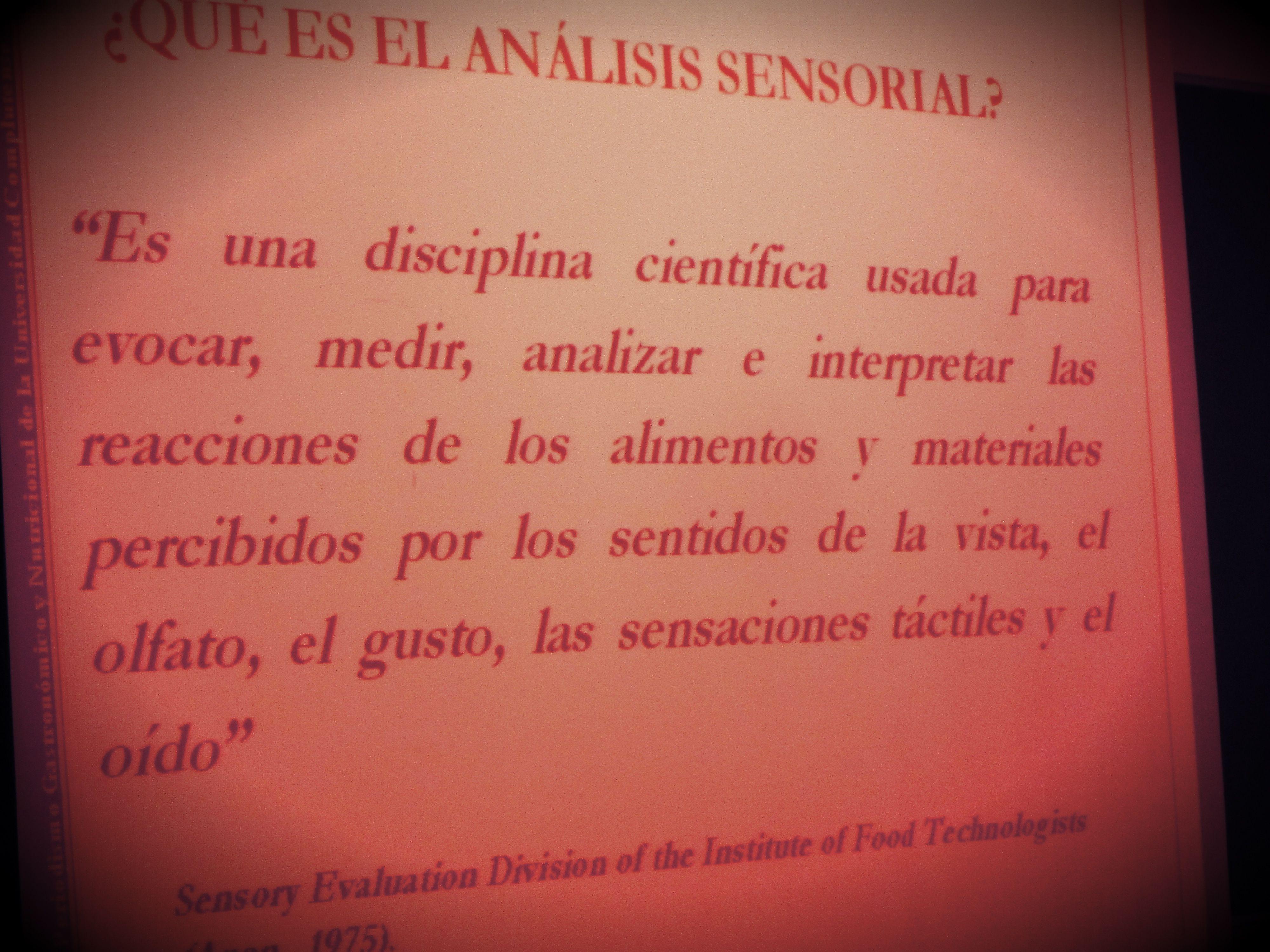 ¿Qué es el análisis sensorial? Imprescindible definición en este campo. Imagen Nuria Blanco, @nuriblan. 05.04.2013
