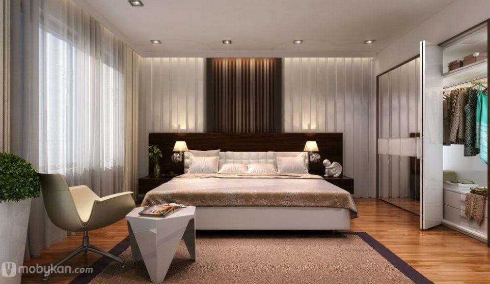 الديكور ديكورات غرف مميزه تصميمات مختلفه لديكورات غرف بأشكال مميزه Apartment Bedroom Design Simple Bedroom Design Minimalist Bedroom Design