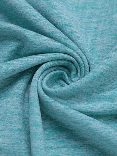 Color Block Quick Dry Raglan Sleeve Fitness T-Shirt , #AD, #Quick, #Dry, #Color, #Block, #Fitness #a...