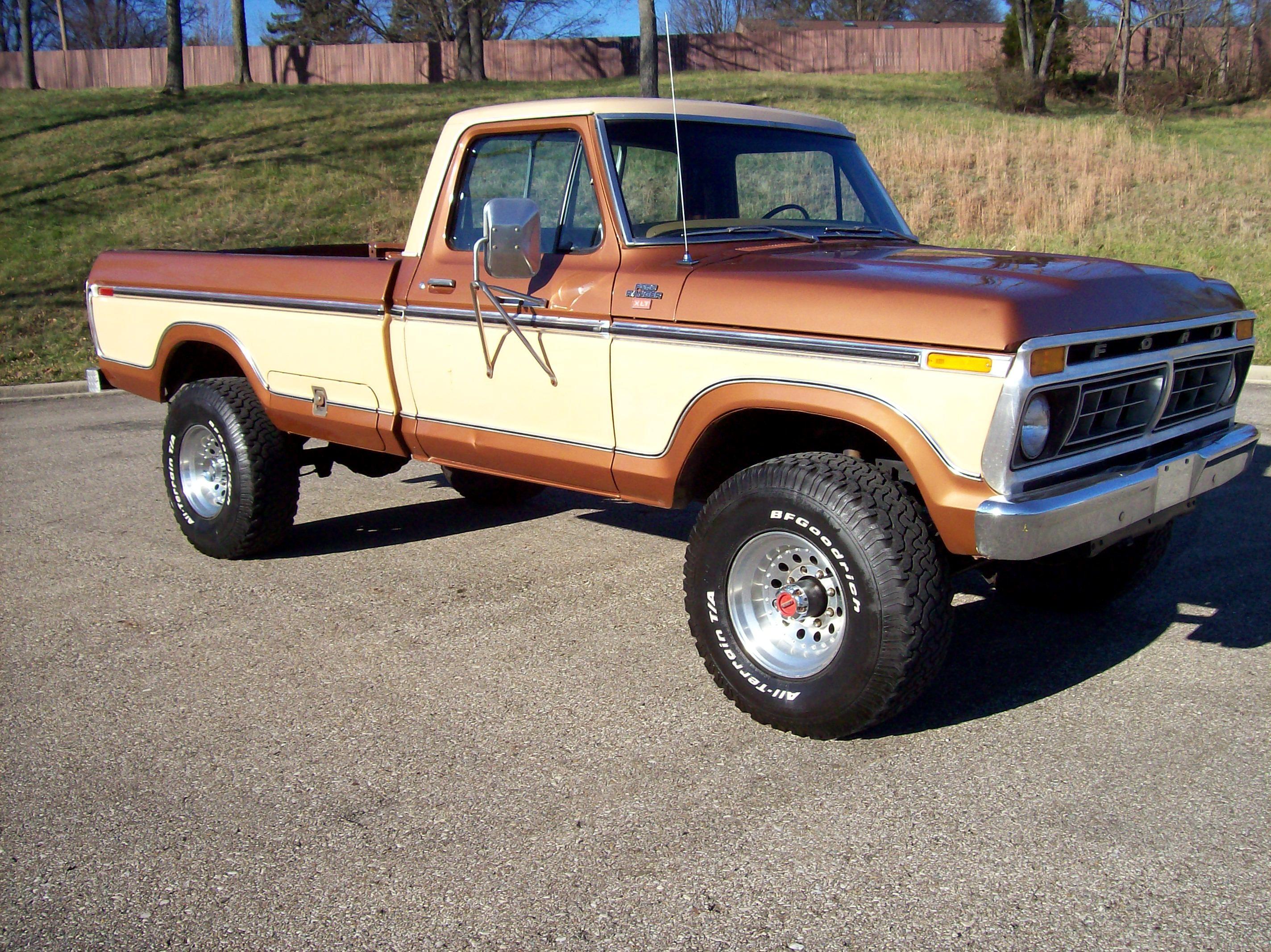 1977 f250 highboy 1977 ford f250 4x4 highboy ranger xlt 1 12