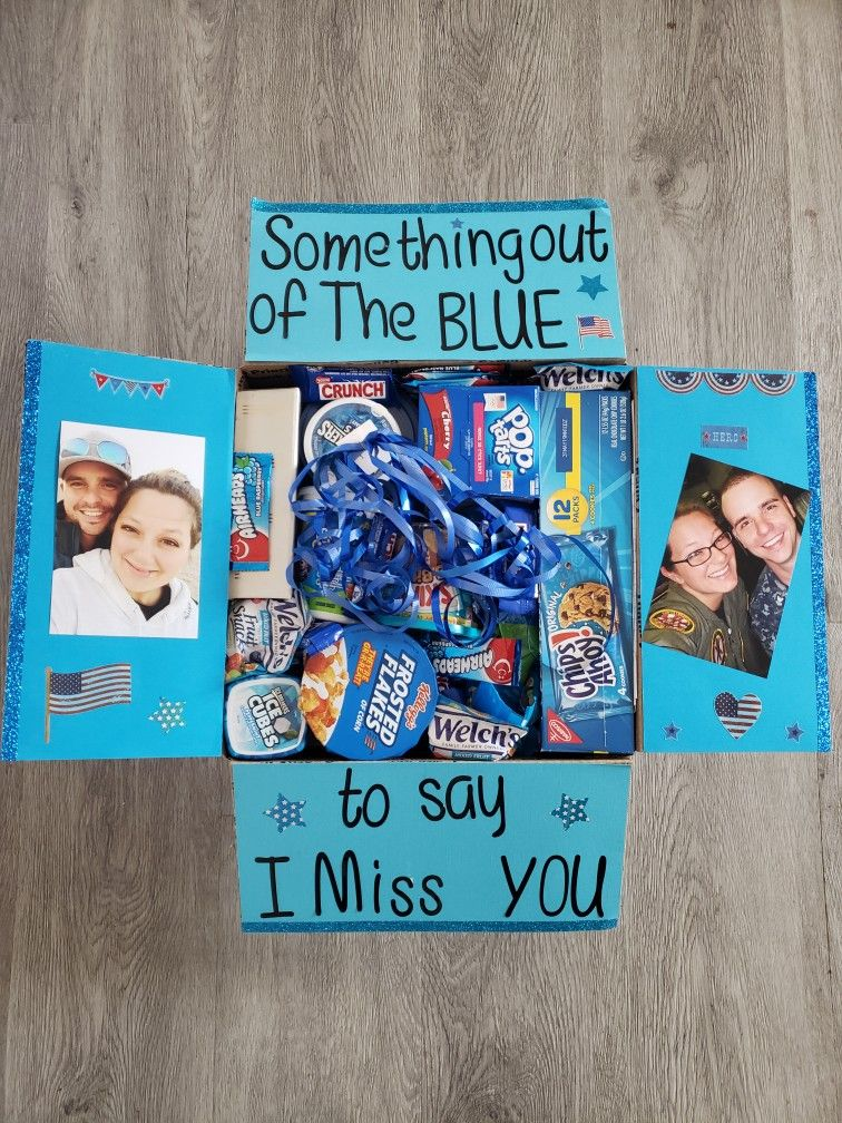 Something Out Of The Blue To Say I Miss You Cute