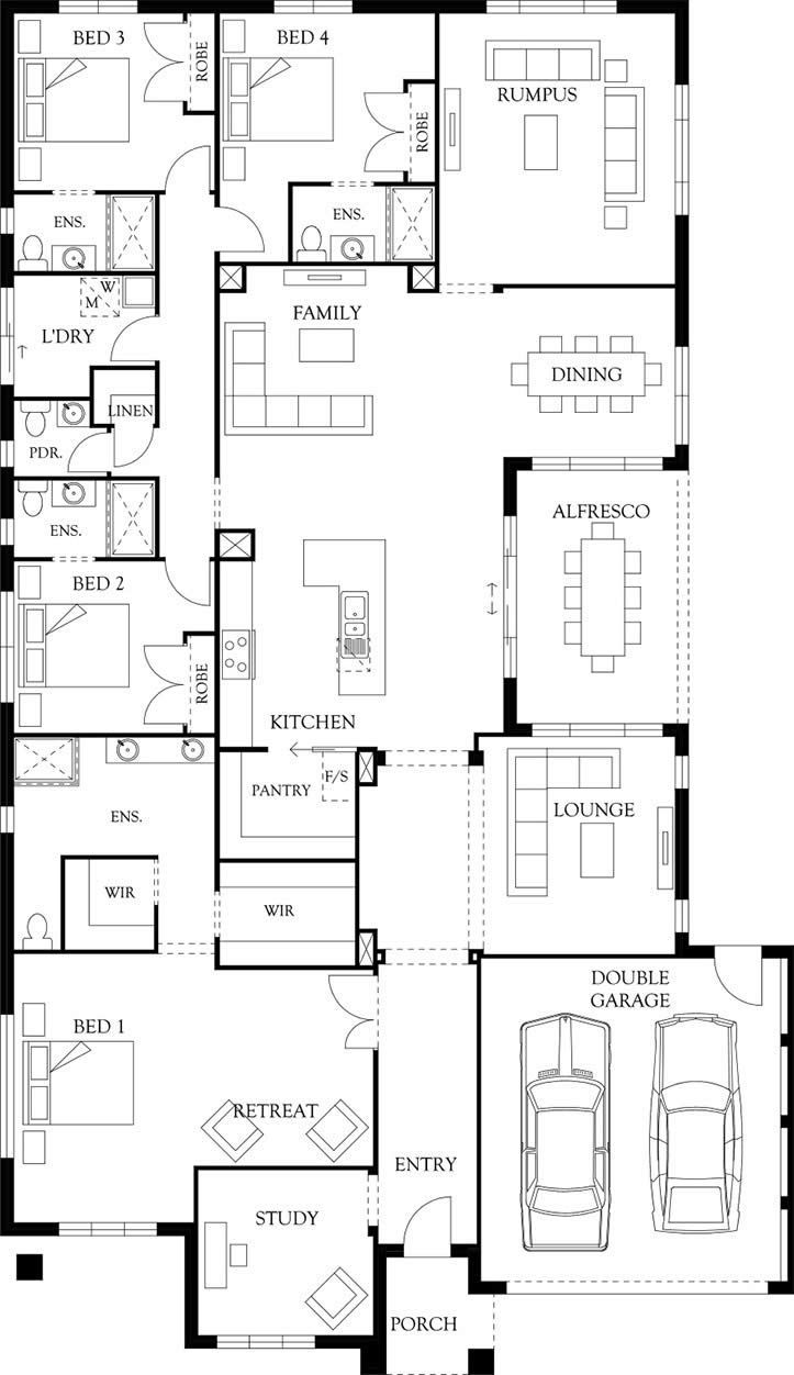 Take  look at the beaumont home design view more designs eden brae also best house plans images in floor rh pinterest