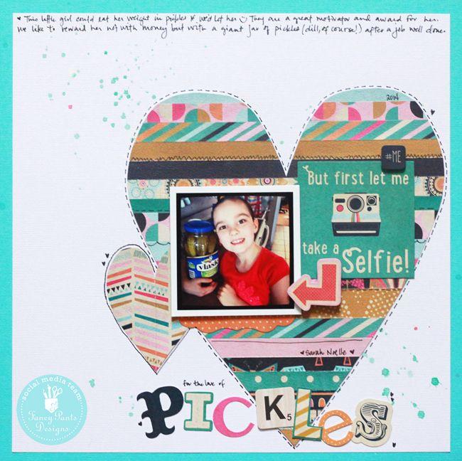Pickles *Fancy Pants Flutter collection - Scrapbook.com