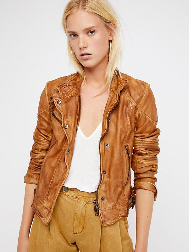 Fitted And Rugged Leather Jacket With Images Leather Jacket Leather Jacket Black Rugged Leather