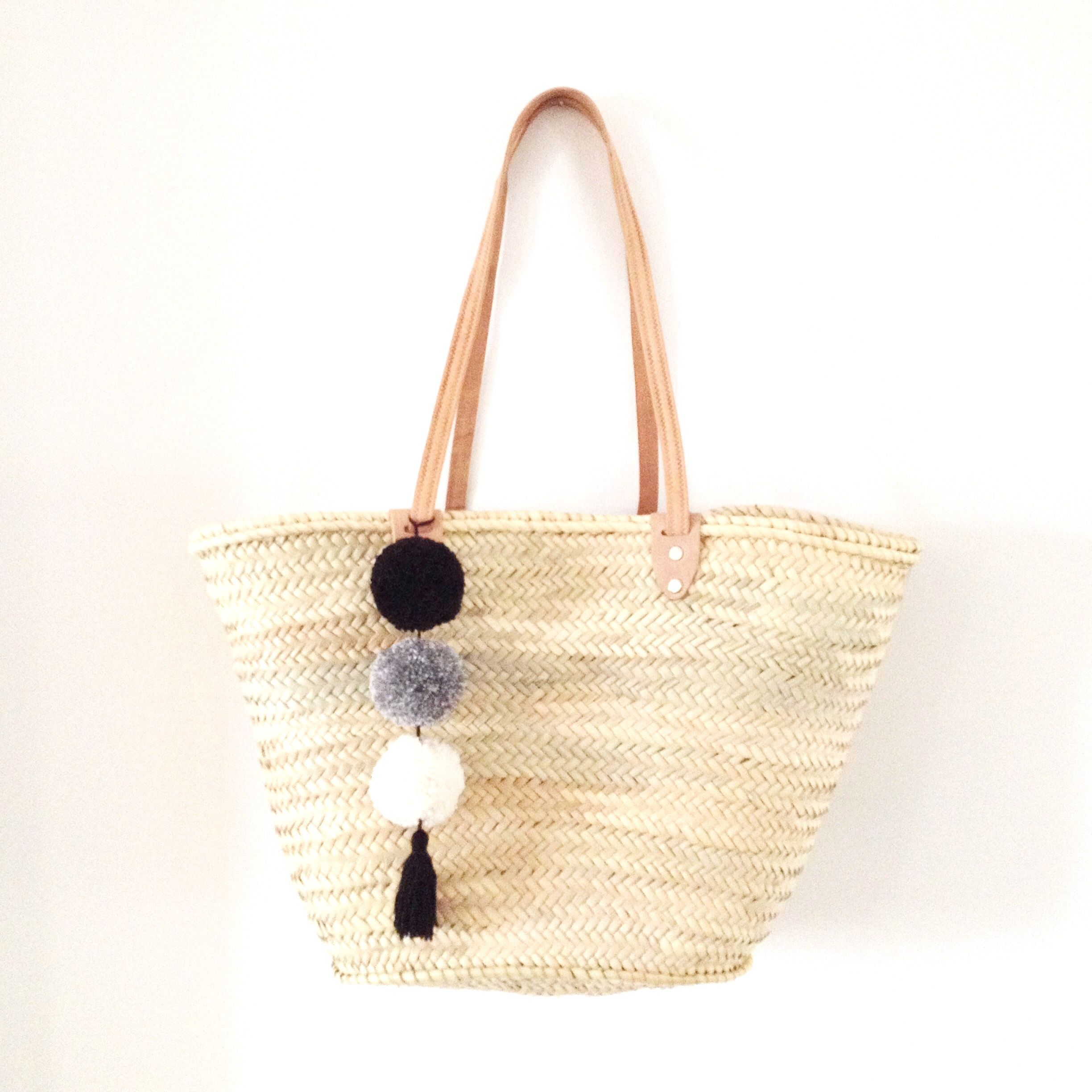 Our Pom Basket Bag Just Perfect For Any Spring Or Summer Outfit