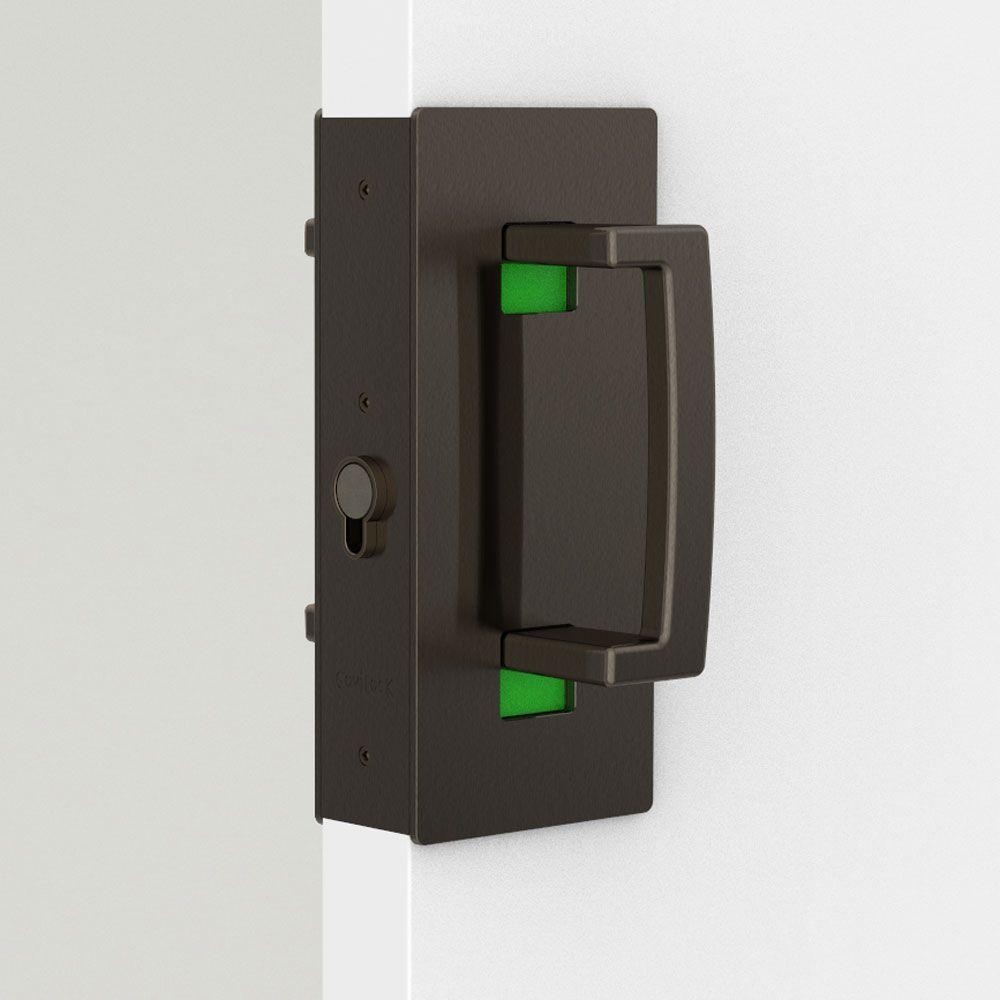 Oil Rubbed Bronze Sliding Door Handle With Images Sliding Door