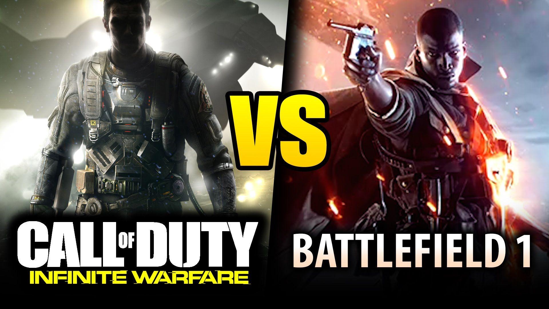 Battlefield 1 Vs Call Of Duty Infinite Warfare Which Game To Buy Infinite Warfare Battlefield 1 Callofduty