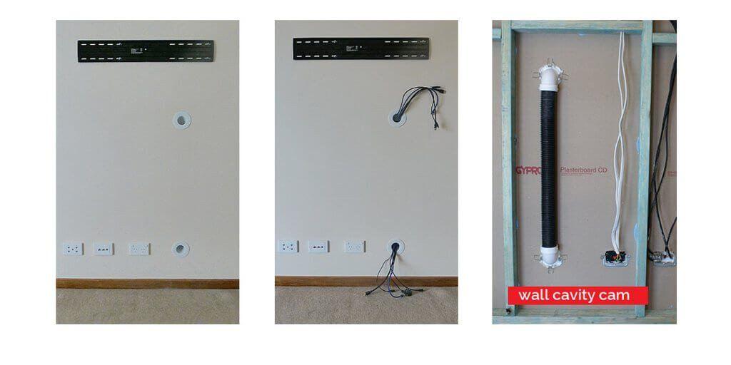 https://www.cableclear.net/ | Wall mounted tv, Hidden tv ...