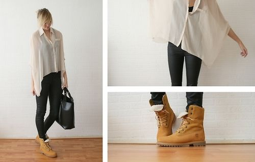love this outfit! mix of classy and casual.