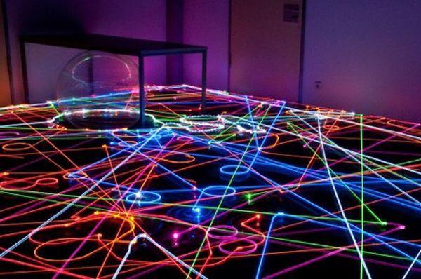 Roomba Pattern Led Art En 2019 Led Art