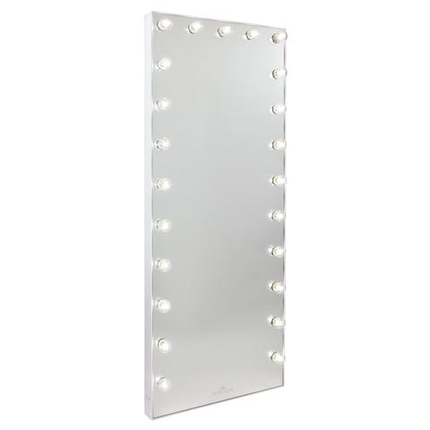 Hollywood Glow Full Length Vanity Mirror Floor Mirror With