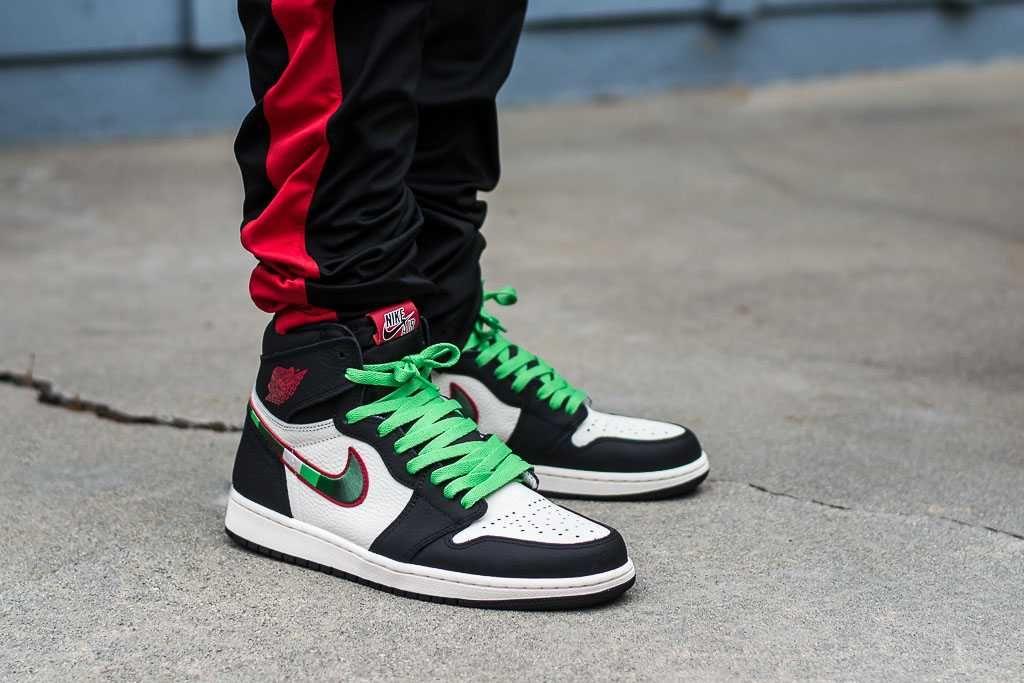 Air Jordan 1 Sports Illustrated On Feet Sneaker Review