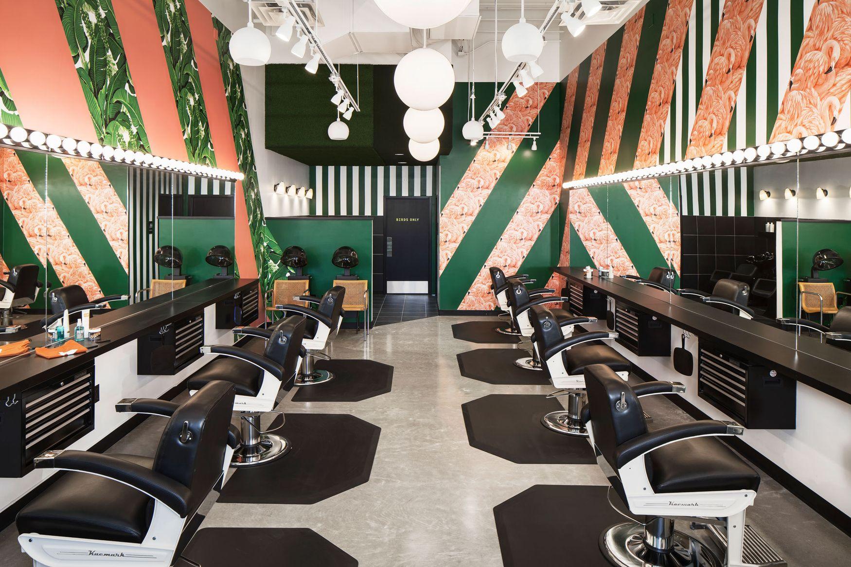 Barbershop The Domain Markodomstudio Barber Shop Design Prefab Homes