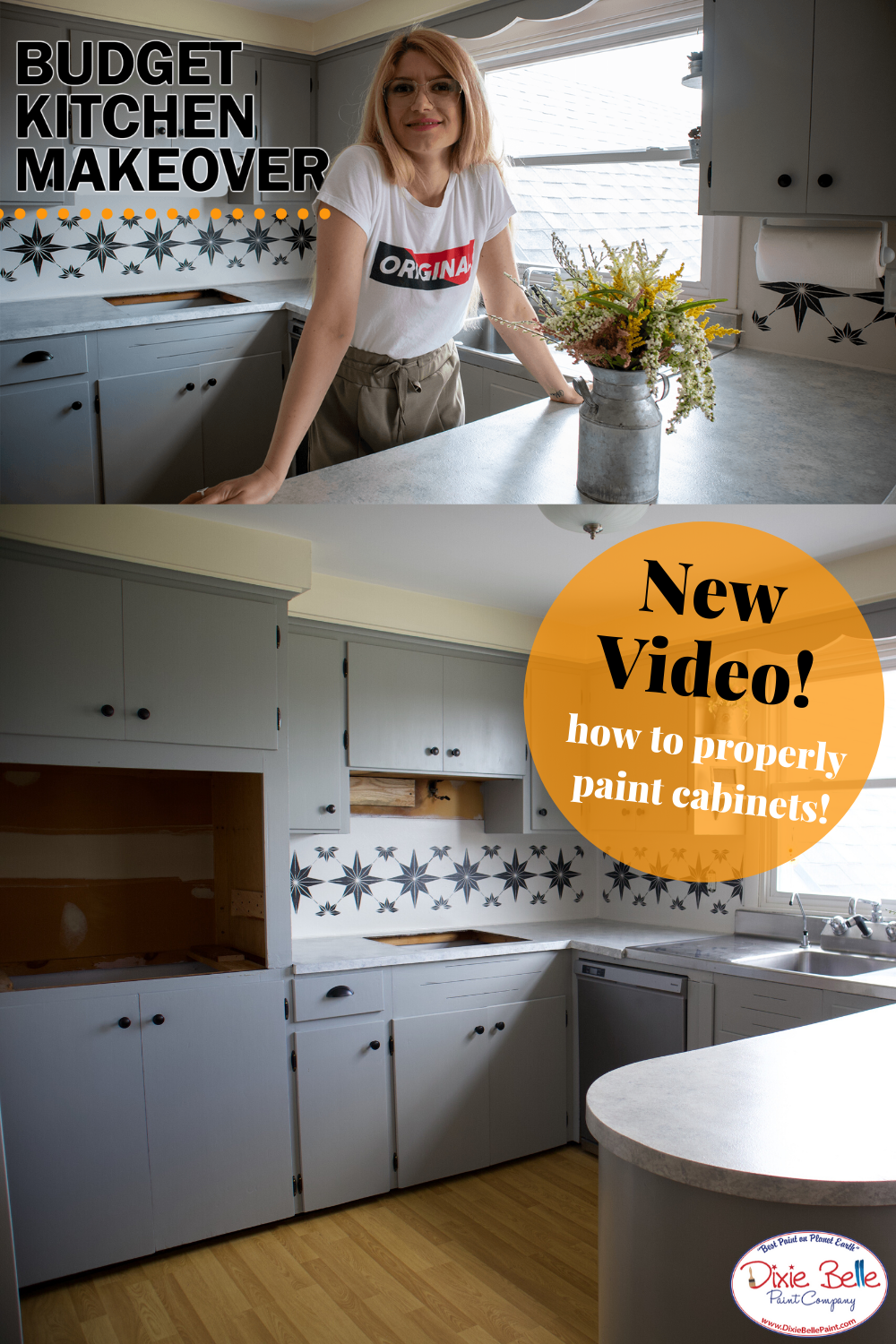 How To Redo Your Kitchen Cabinets Counter Top Kitchen Cabinet Remodel Paint For Kitchen Walls Painting Kitchen Counters