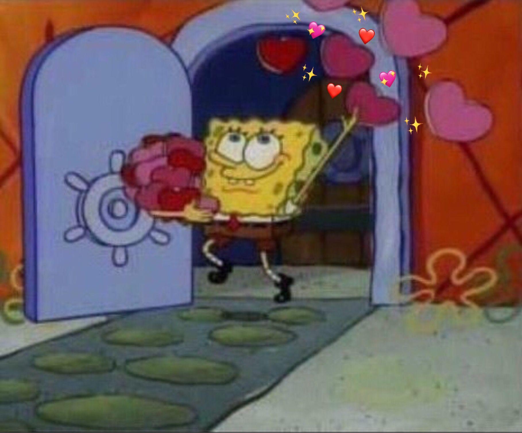 love hearts mood spongebob Spongebob pics