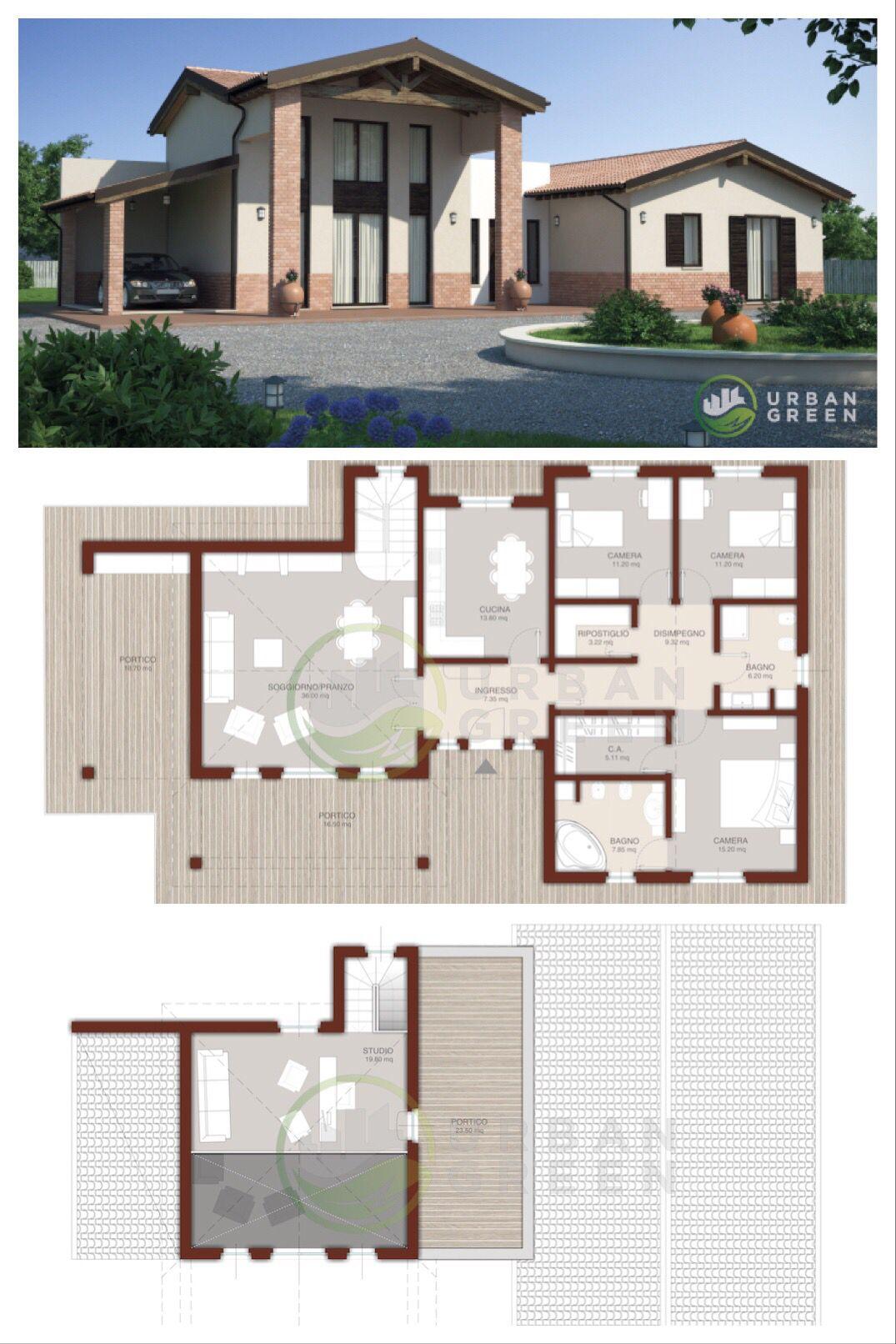 Casa In Legno Bipiano Urb10 Urban Green Case Di Legno Stili