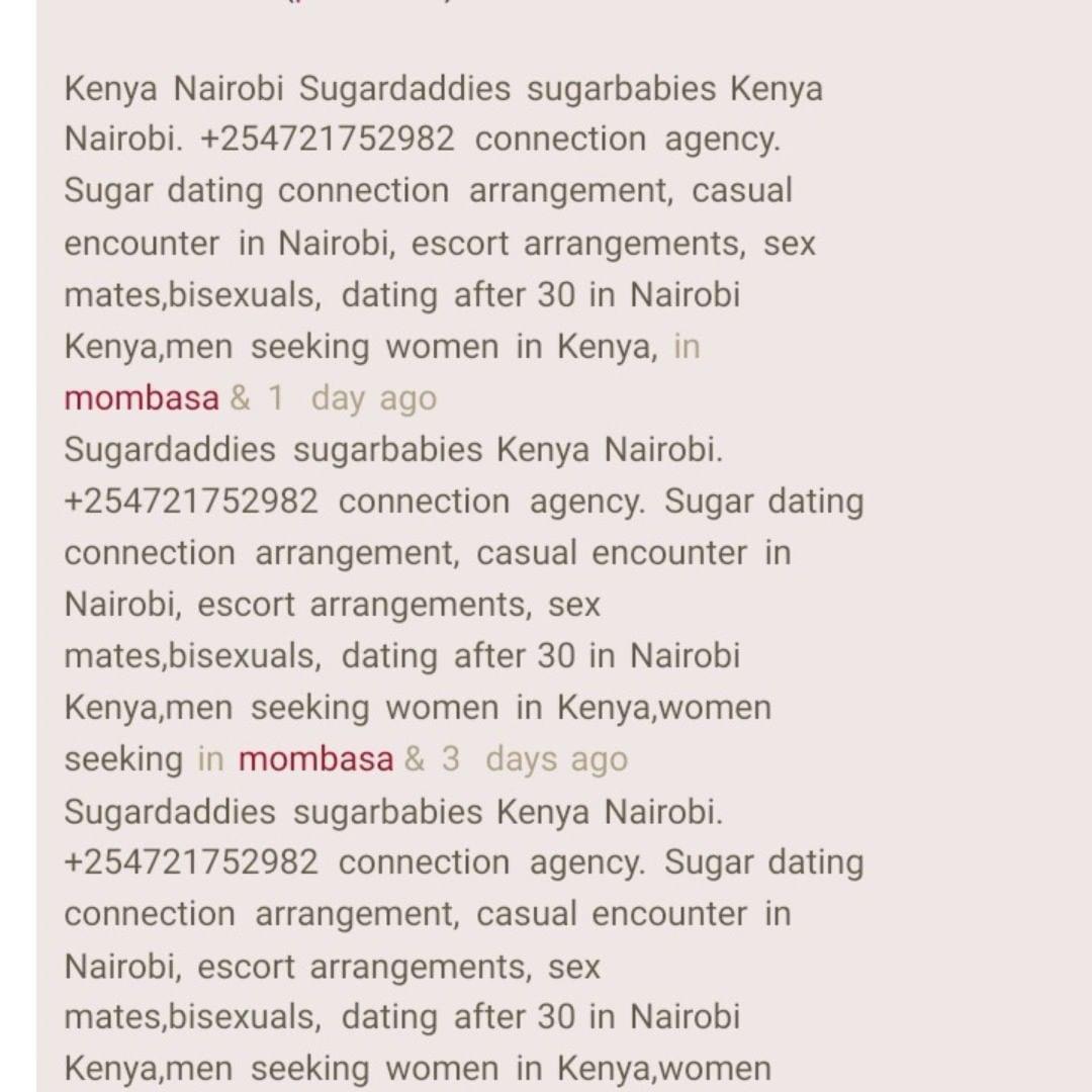 casual dating Kenya