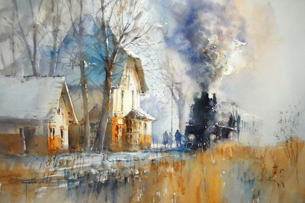 Beautiful Watercolour Paintings By The Polish Artist Michael