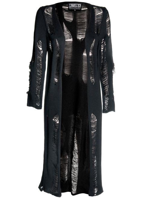Disconnect Midi Cardigan - Disturbia Clothing